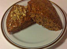 Протеиновый хлеб с шоколадом и апельсином