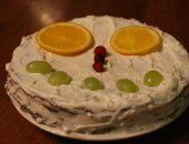 рецепт фитнес торта