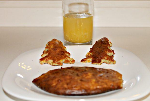 Апельсиновые булочки из протеина