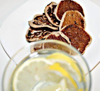 Протеиновые сырники с лимоном