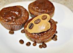 Кофейно-шоколадные кексы с протеином