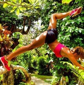 женская одежда фитнес