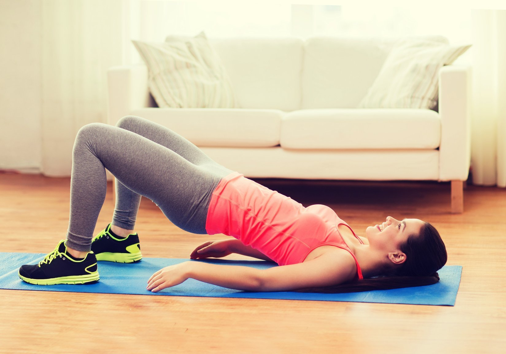 Ягодичный мостик: Лучшее упражнение для попы