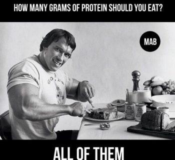 Сколько белка нужно в день