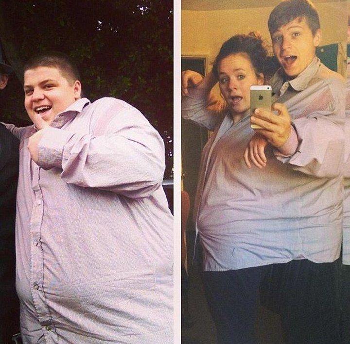 результаты до и после