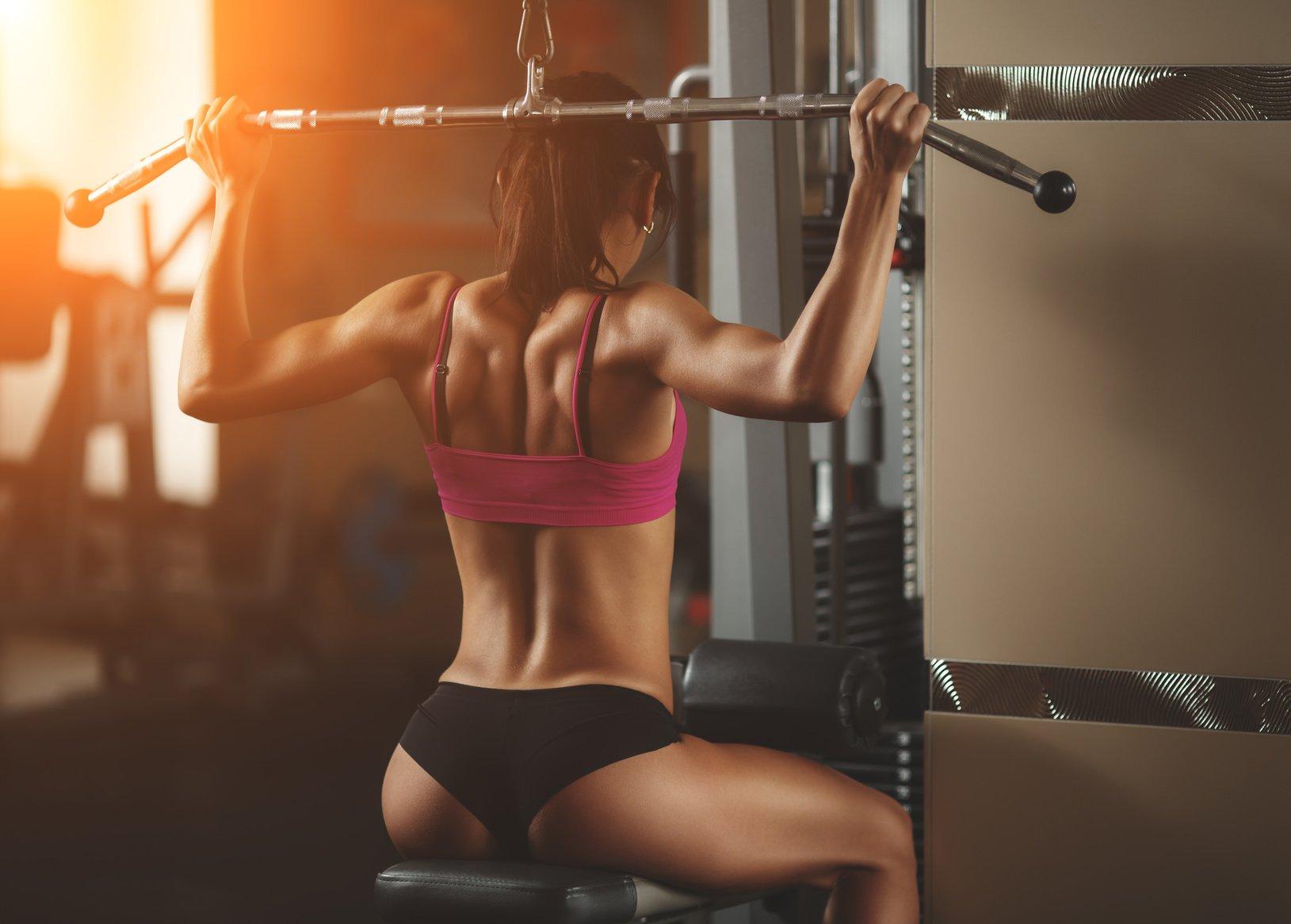 Интересная тренировка для девушек