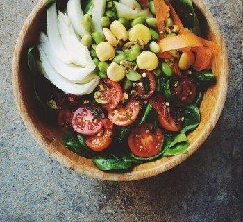 Как есть овощи