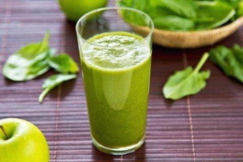 Зеленый чай смузи