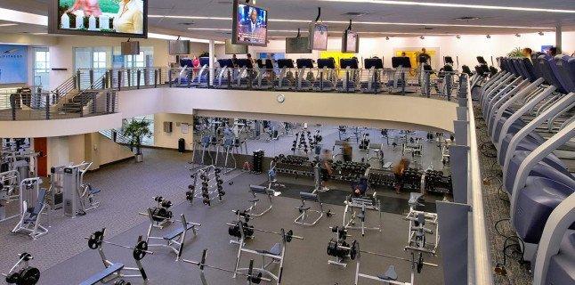 Внутри LA Fitness