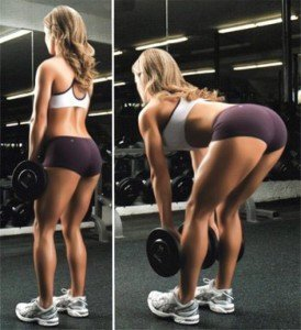 базовое упражнение мертвая тяга