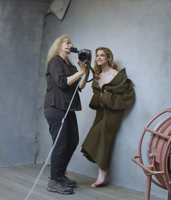 Энни Лейбовиц и Наталья Водянова