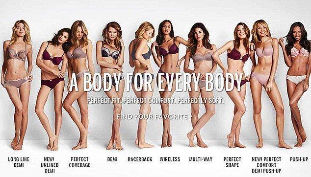 Девушки Victoria's Secret отобраны специально, чтобы соответствовать представлениям руководства компании об идеальном теле.