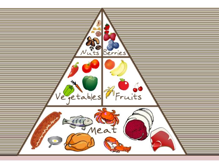 пирамида питания для похудения по часам