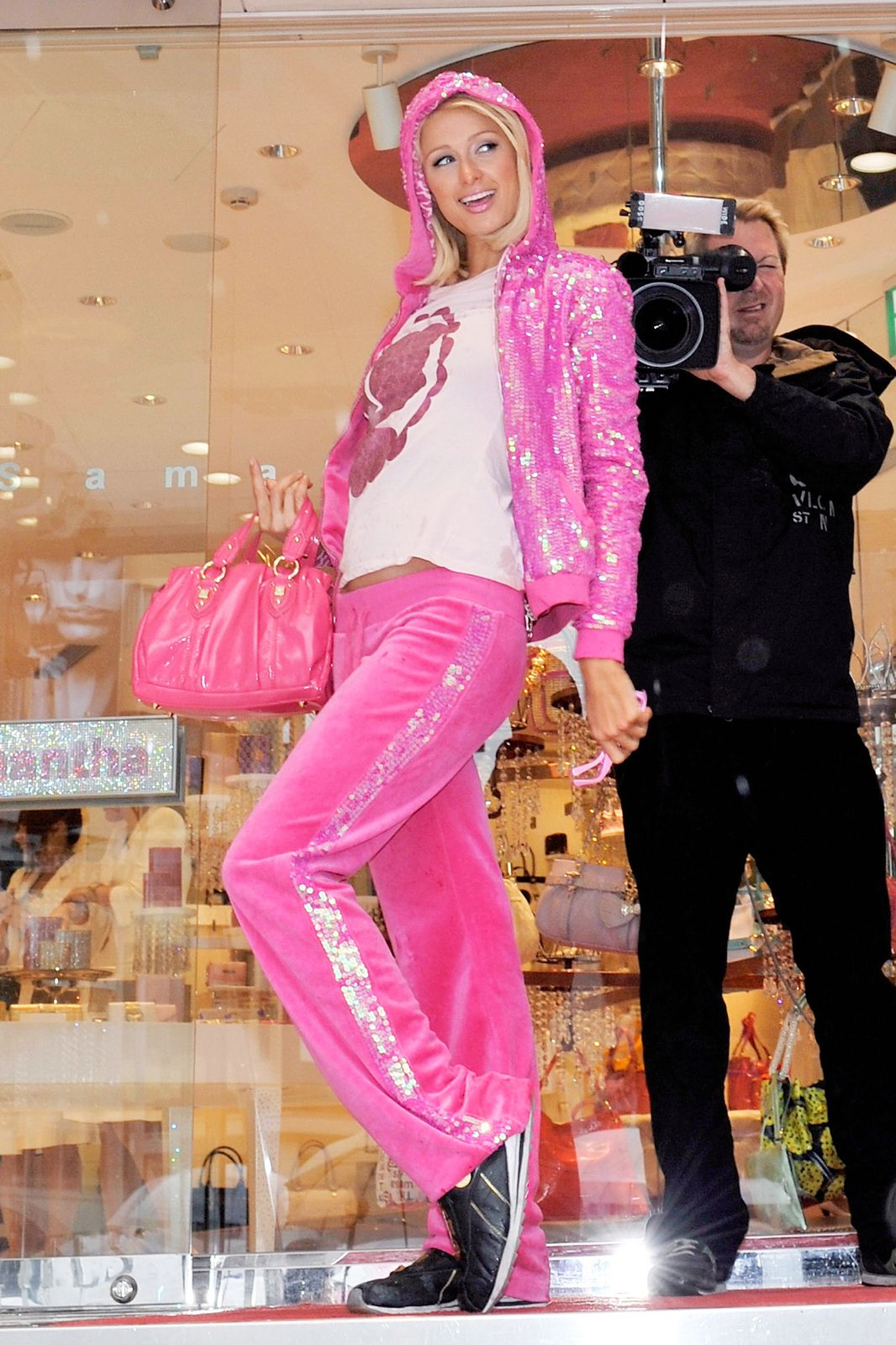 Пэрис Хилтон в Juicy Couture