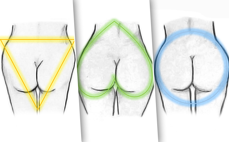 разновидности женских жоп - 10