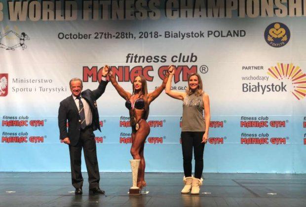 Чемпионка мира по фитнесу