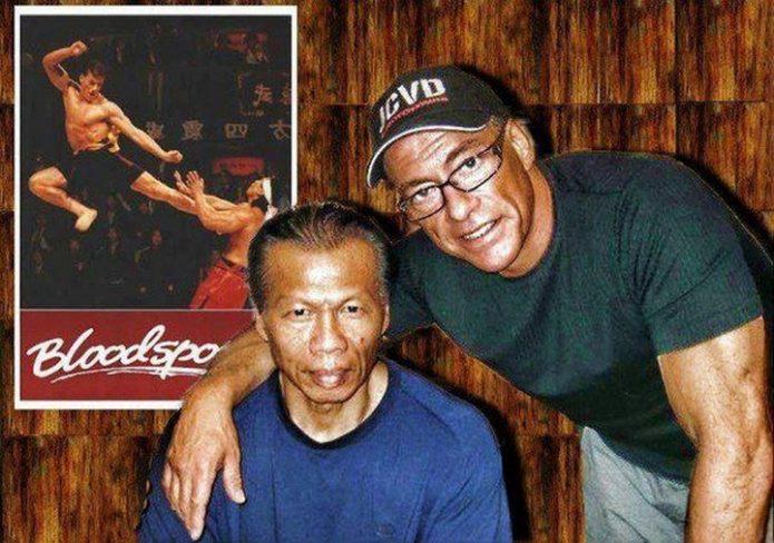 Новое фото Ван Дамма и Боло Йенга