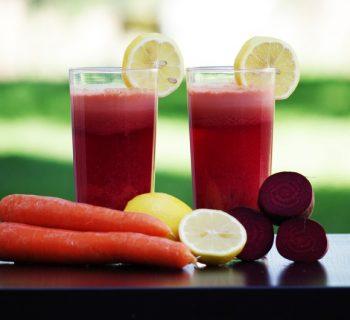 Морковь, свёкла и соки