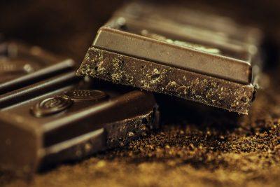 Дольки шоколада
