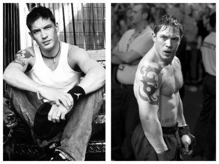 Том Харди до и после съёмок «Воина»