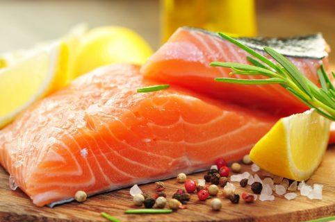 Красная жирная рыба