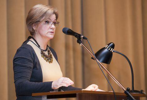 Лариса Лазутина на выступлении