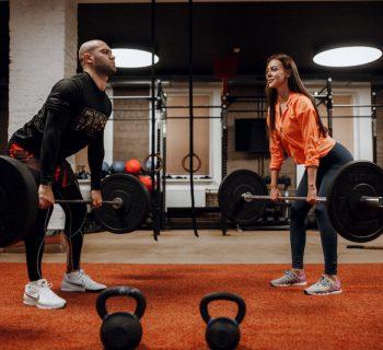 Тренировки в фитне�-зале
