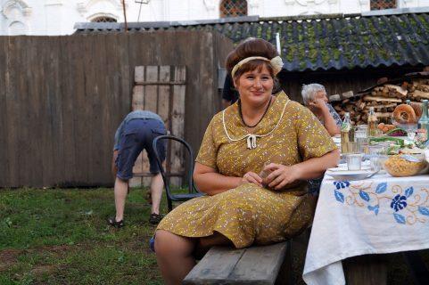 Юлия Куварзина до похудения