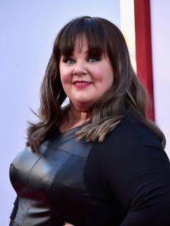 Мелисса Маккарти до похудения