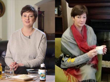 Виктория Талышинская до и после похудения