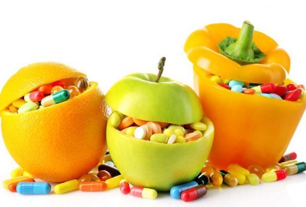 Витаминные пилюли в овощах и фруктах
