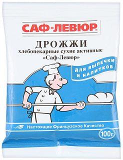 Дрожжи хлебопекарные сухие в пакете