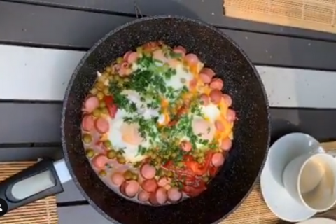 Завтрак Светланы Бондарчук