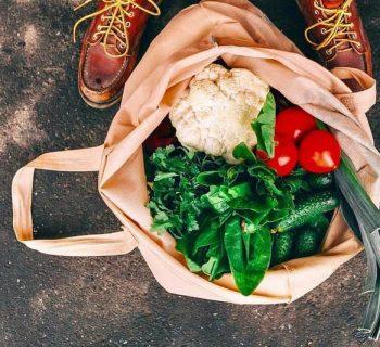 Пакет с овощами