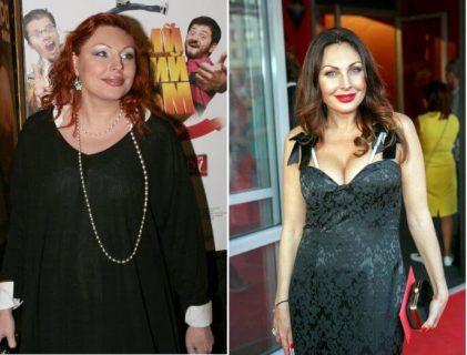 Наталья Бочкарёва до и после похудения