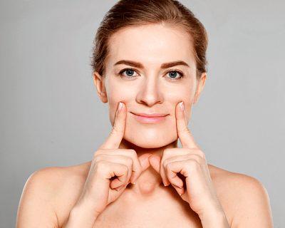 Упражнение для лица Улыбка