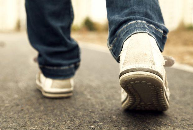 Идущие ноги
