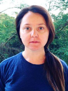 Валентина Рубцова без макияжа