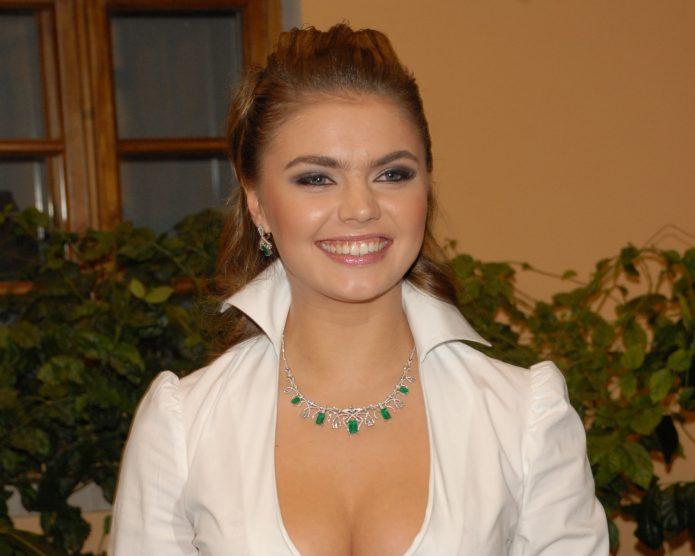 Гимнастка Алина Кабаева