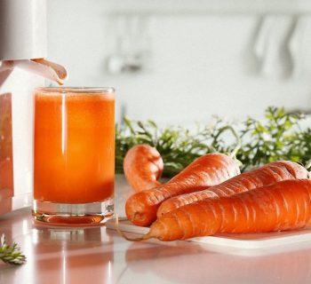 Морковь и морковный сок