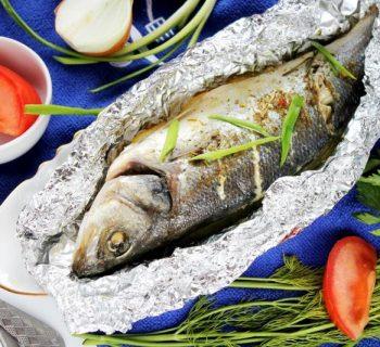 Рыба в фольге дл� запекани�