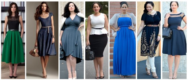 Одежда, позволяющая визуально уменьшить размер попы