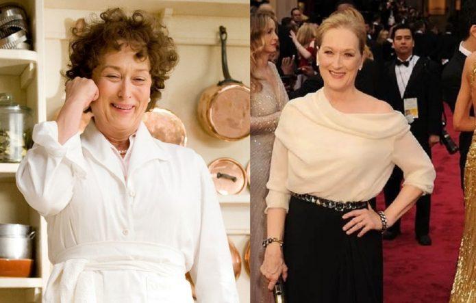 Мэрил Стрип до и после похудения