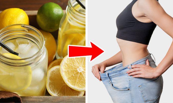 Вода с лимоном для женщин
