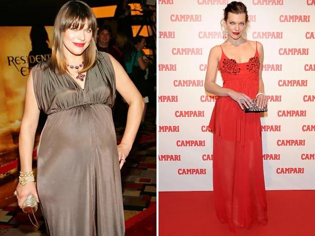милла йовович до и после похудения