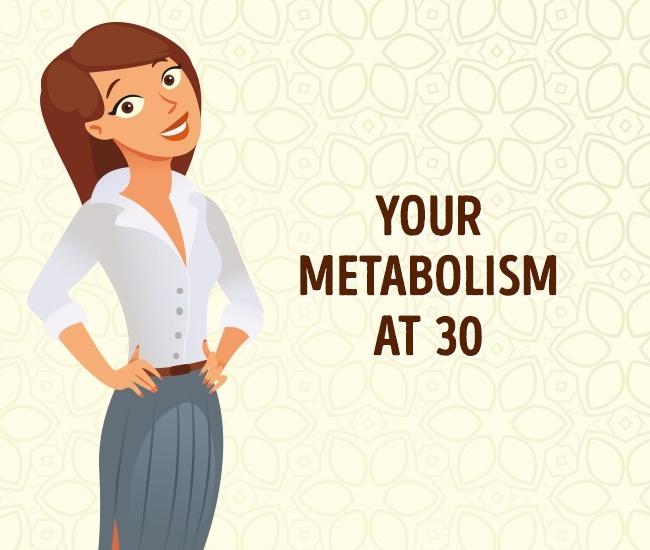 Метаболизм в 30 лет