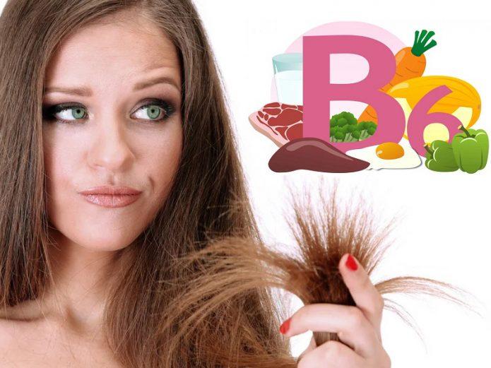 Сухие волосы и витамин B6