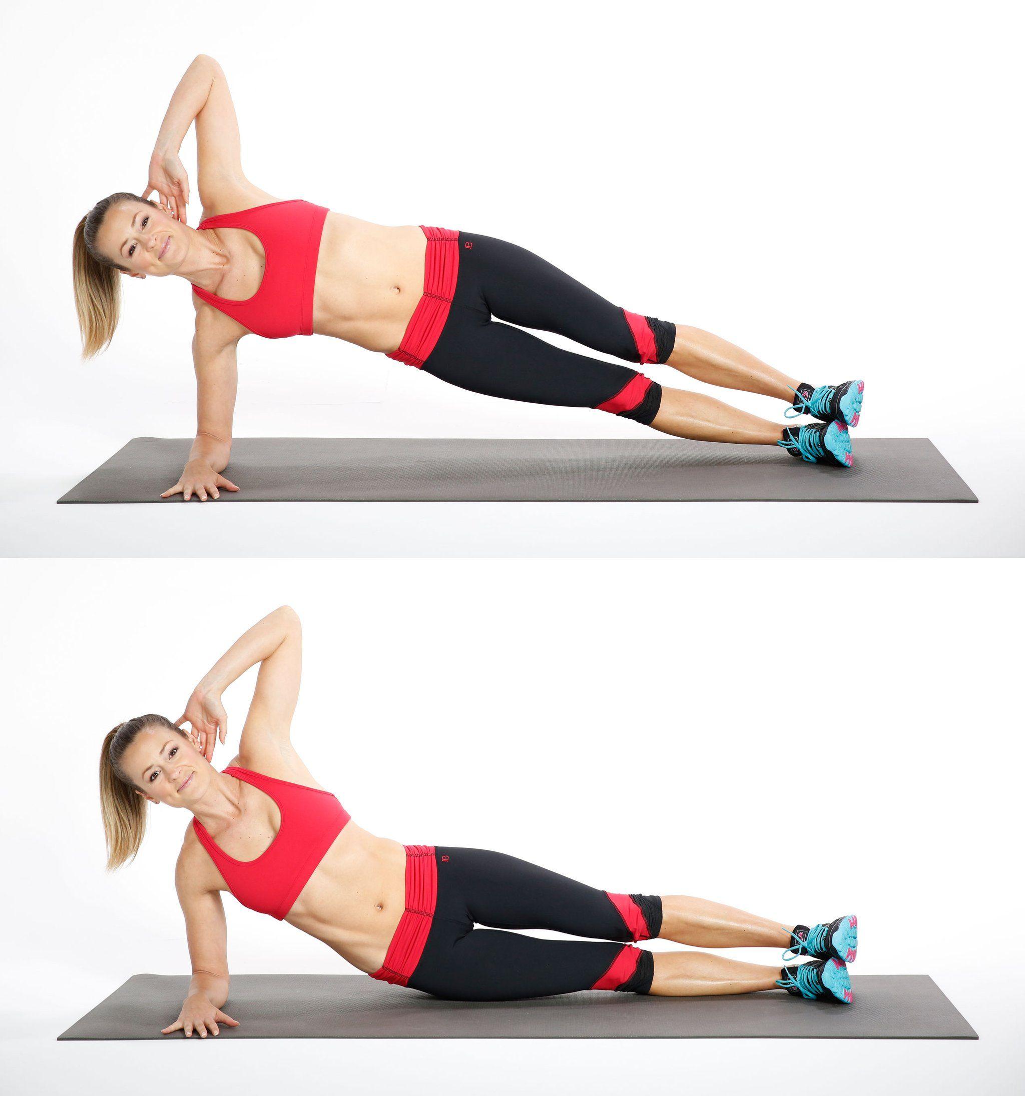 время упражнения для похудения в боках с картинками подключить