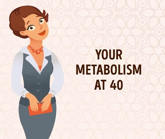 Метаболизм в 40 лет