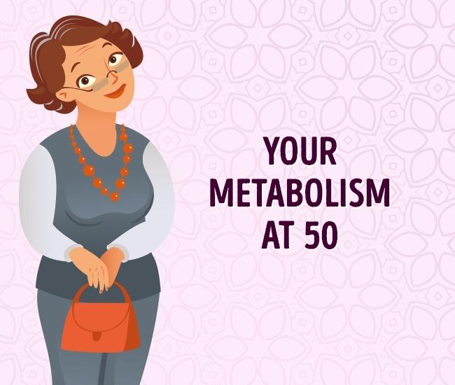 Метаболизм в 50 лет